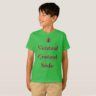Mardi Gras - Kids Neutral Ground Side T-Shirt