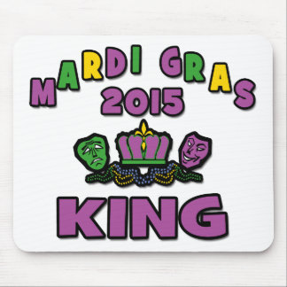 Mardi Gras King 2015 Mouse Pad