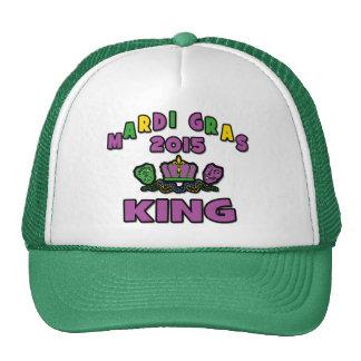 Mardi Gras King 2015 Trucker Hat