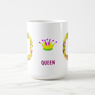 Mardi Gras King Cake Queen Coffee Mug