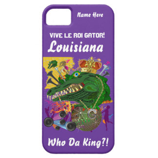 Mardi Gras King Gator Important View Hints iPhone 5 Cover