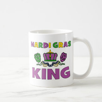 Mardi Gras King Coffee Mug