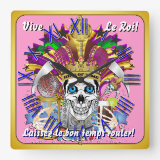 Mardi Gras King of Time Clock View Hints Please