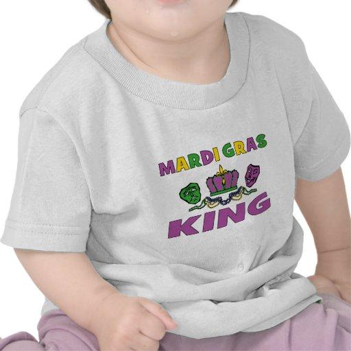 Mardi Gras King Tee Shirt