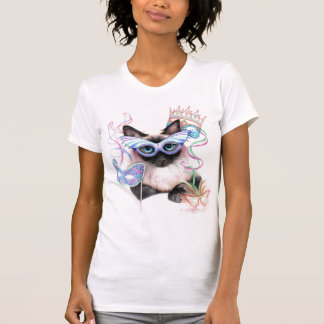 Mardi Gras Kitty T Shirts