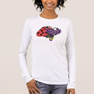 Mardi Gras Ladybug Long Sleeve T-Shirt