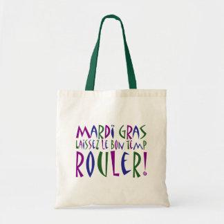 Mardi Gras - Laissez Le Bon Temp Rouler! Budget Tote Bag