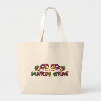 MARDI-GRAS LARGE TOTE BAG