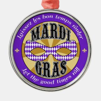 Mardi Gras Logo Ornament