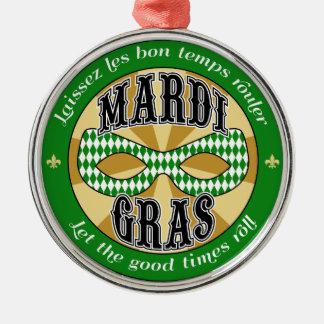 Mardi Gras Logo Christmas Ornaments