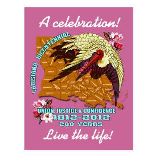Mardi Gras Louisiana Bicentennial Party See Notes Postcard