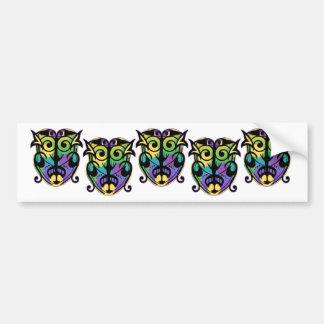 Mardi Gras Magic Mask Bumper Sticker