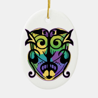 Mardi Gras Magic Mask Christmas Ornaments