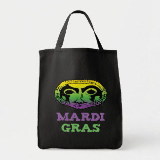 Mardi Gras Mask Canvas Bags