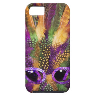 Mardi Gras mask, close-up, full frame iPhone SE/5/5s Case