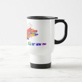 Mardi Gras Mask Coffee Mugs