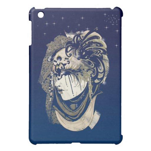 Mardi Gras Mask iPad Mini Covers