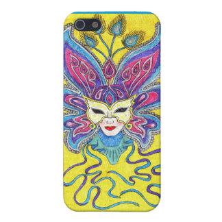 Mardi Gras Mask iPhone 4 Case