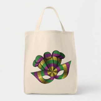 Mardi Gras Mask Light Tote Bag