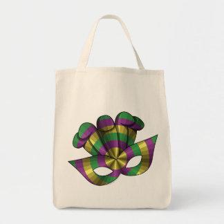 Mardi Gras Mask Light Tote Bag