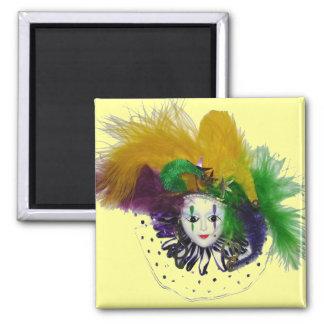 Mardi Gras Mask Magnet