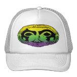 Mardi Gras Mask Mesh Hats
