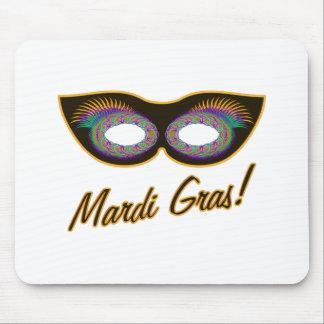 Mardi Gras mask Mouse Pad