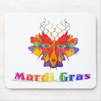 Mardi Gras Mask Mousepads