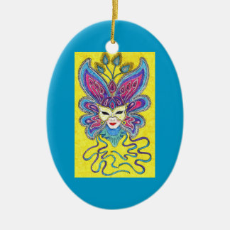 Mardi Gras Mask Ornament