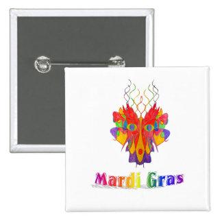 Mardi Gras Mask Pins
