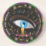 Mardi Gras Mask-Seize the night Coaster