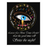 Mardi Gras Mask-Seize the night Flyers