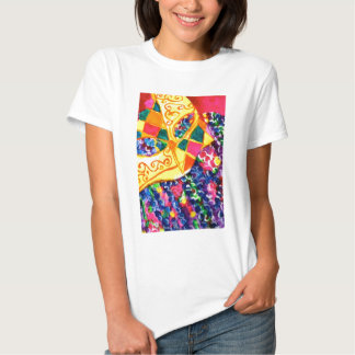 Mardi Gras Mask Tee Shirt