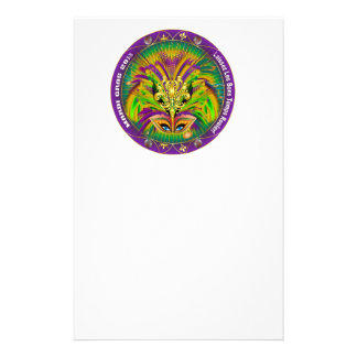 Mardi-Gras-Mask-The-Queen-1-B Stationery