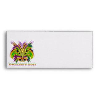 Mardi-Gras-Mask-The-Queen-V-2 Envelope