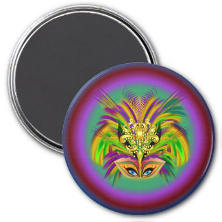 Mardi-Gras-Mask-The-Queen-V-2 Magnet
