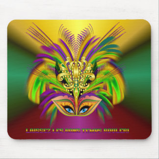 Mardi-Gras-Mask-The-Queen-V-2 Mouse Pad