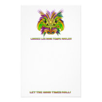 Mardi-Gras-Mask-The-Queen-V-2 Stationery