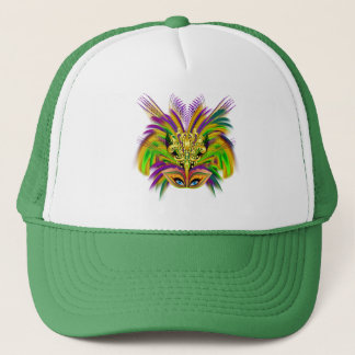 Mardi-Gras-Mask-The-Queen-V-2 Trucker Hat