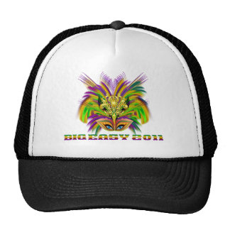 Mardi-Gras-Mask-The-Queen-V-2 Trucker Hat