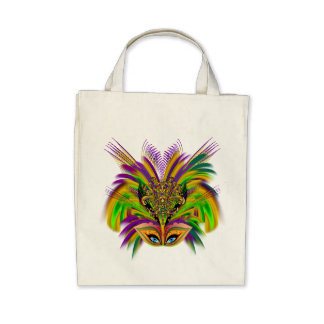 Mardi-Gras-Mask-The-Queen-V-3 Canvas Bags