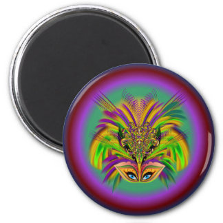 Mardi-Gras-Mask-The-Queen-V-3 Magnet