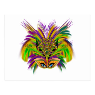 Mardi-Gras-Mask-The-Queen-V-3 Postales