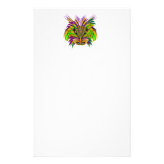 Mardi-Gras-Mask-The-Queen-V-3 Stationery