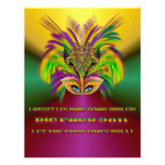 Mardi-Gras-Mask-The-Queen-V-3 Tarjeta Publicitaria