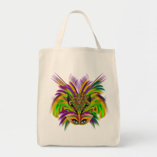 Mardi-Gras-Mask-The-Queen-V-3 Tote Bag