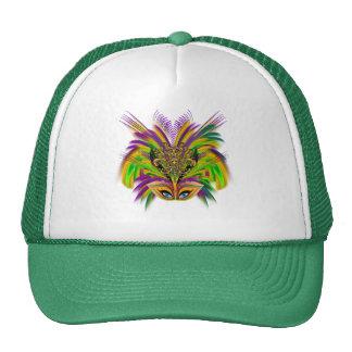 Mardi-Gras-Mask-The-Queen-V-3 Trucker Hat