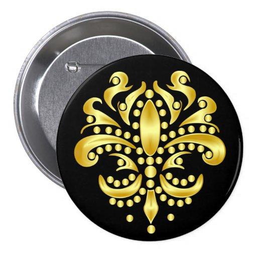 Mardi-Gras-Mask-The-Queen-V-4 Pin