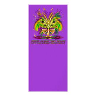 Mardi-Gras-Mask-The-Queen-V-4 Diseño De Tarjeta Publicitaria