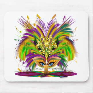 Mardi-Gras-Mask-The-Queen-V-4 Mouse Pad